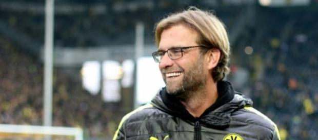 Klopp con el Borussia Dortmund