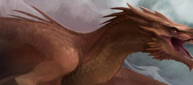 Viserion, el dragón blanco