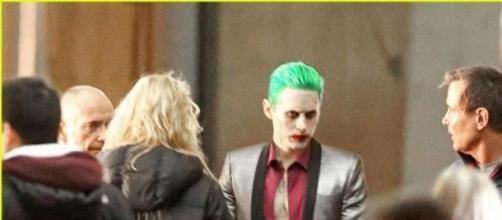 El joker impacta con su look durante el rodaje