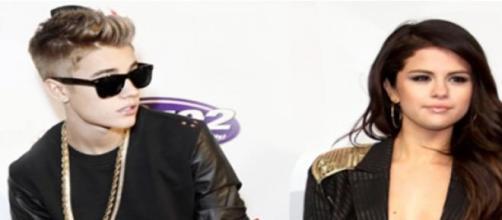 Justin Bieber e Selena Gomez.