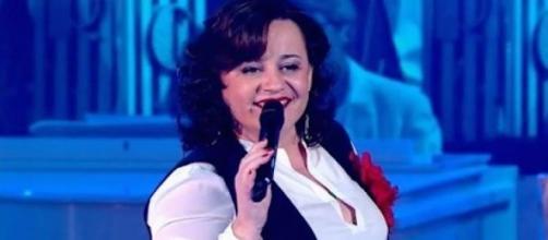 Lisa Angell, candidate française à l'Eurovision.