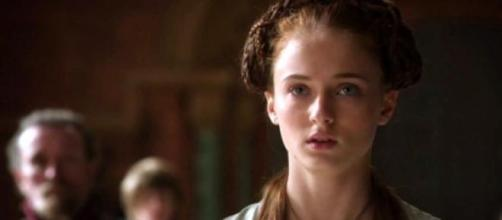 Sansa Stark em 'A Guerra dos Tronos'