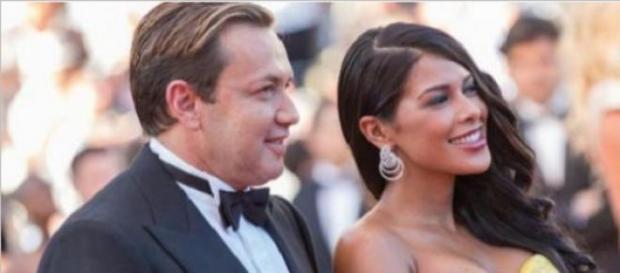 Ayem Nour et Vincent Miclet à Cannes en 2015
