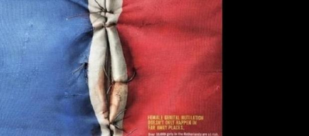 Des drapeaux pour la lutte contre l'excision