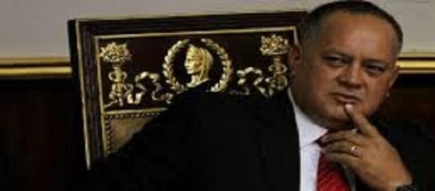 Diosdado Cabello, del Parlamento venezuelano.