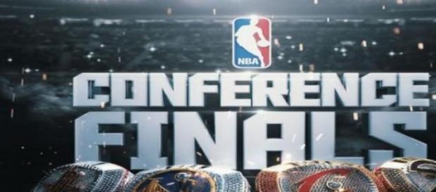 Logo de los equipos de las Finales de Conferencia