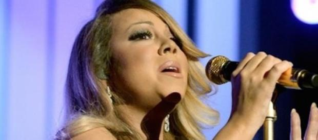 Mariah Carey aux Billboard Music Awards.