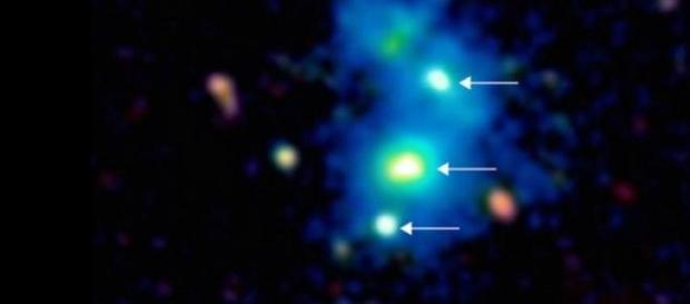 Quasar cvadruplu descoperit in univers
