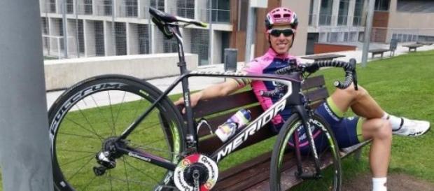 Rui Costa, atleta da Lampre - Mérida