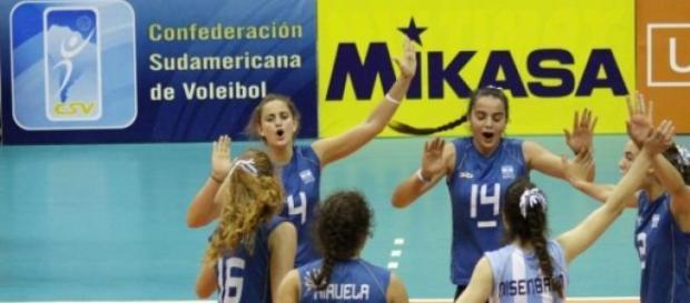 Selección femenina de voley argentino