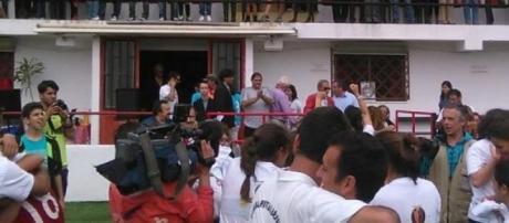 Futebol Benfica fez a festa do inédito título