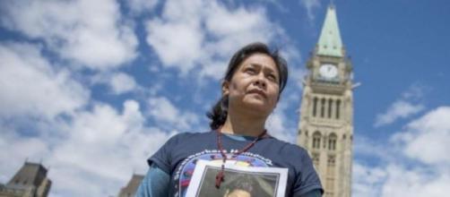 Hilda Legideno Vargas est la mère d'un disparu.
