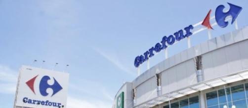 La grande catena commerciale Carrefour