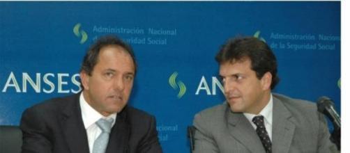 Massa con Scioli, en otros tiempos