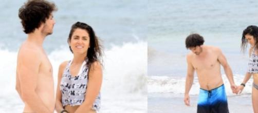 Muito amor nas praias mexicanas