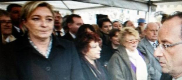 Hollande lors de l'hommage rendus aux militaires