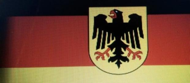 L'aigle allemand majestueux et impérial