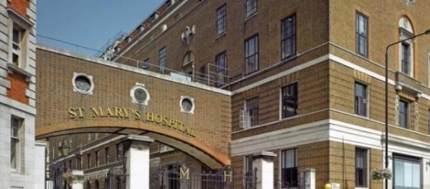 Nascimento terá acontecido no hospital St. Mary