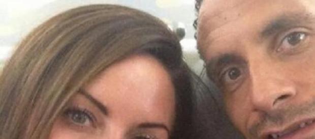 Rebecca Ellison e Rio Ferdinand