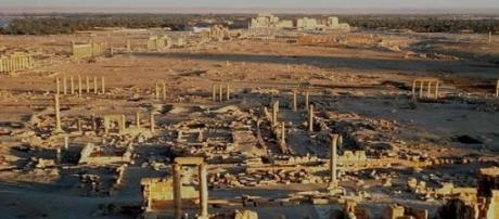 Antiche rovine di Palmyra