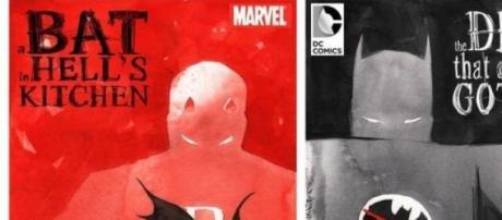 Daredevil de Marvel y Gotham de DC Comics