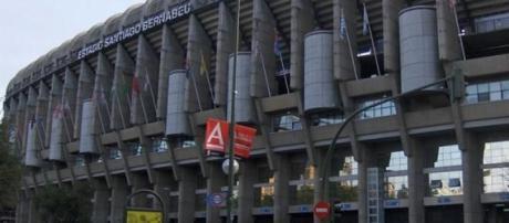 Estadio Santiago Bernabéu, en Madrid