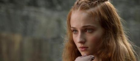 Sansa Stark é interpretada por Sophie Turner