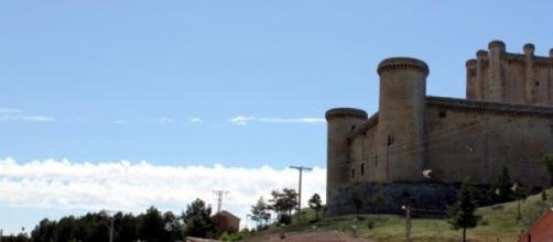 Castillo de Torrelobatón, escenario del rodaje.