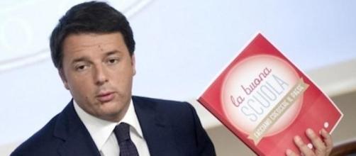 Renzi critica la protesta degli insegnanti.