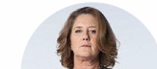 Veronica Llinás caracterizada como su personaje