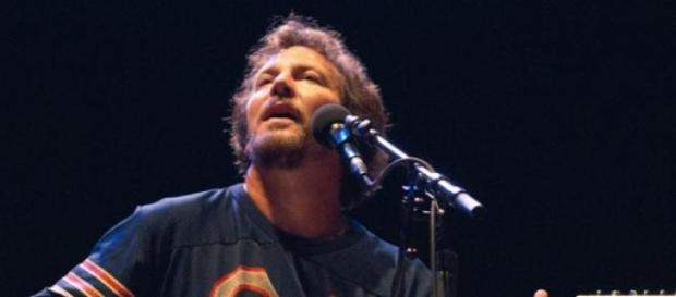 Eddie Vedder se despidió de David Letterman