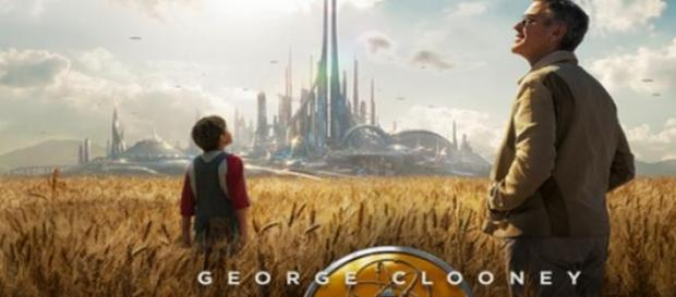 George Clooney en Tomorrowland, película de Disney