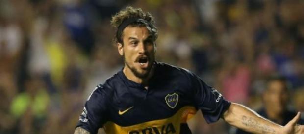 Osvaldo empieza a despedirse de Boca.