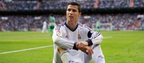 Cristiano Ronaldo en a marre du Real