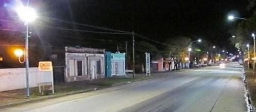 Avenida Perón, en Villa Mercedes, San Luis