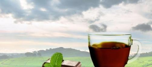 El té verde en combinación con el chocolate negro