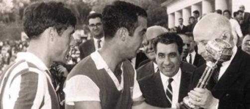 Em 1966 foi assim que terminou a festa da Taça