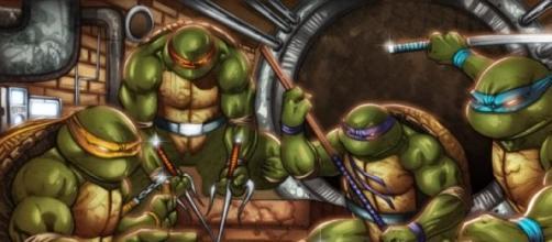 Las Tortugas Ninja en su versión de comic