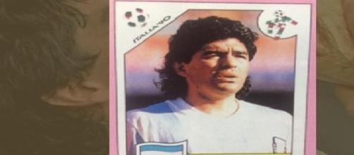 Maradona, album de figuritas del mundial Italia 90