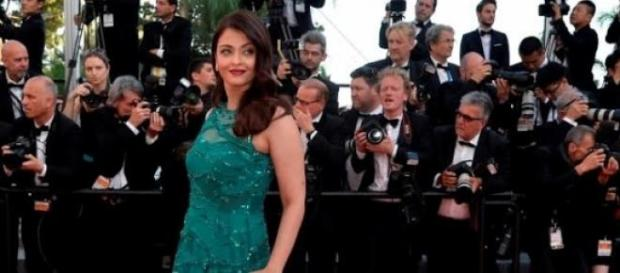 Aishwarya Rai at the Cannes Red Carpet