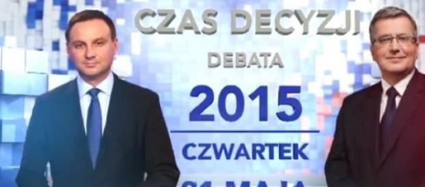 Debata prezydecka TVN i TVN24, kadr zwiastuna