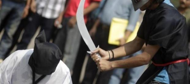 En Arabia Saudí, decapitar es un trabajo