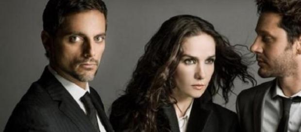 Furriel, Oreiro y Vicuña, figuras del thriller.