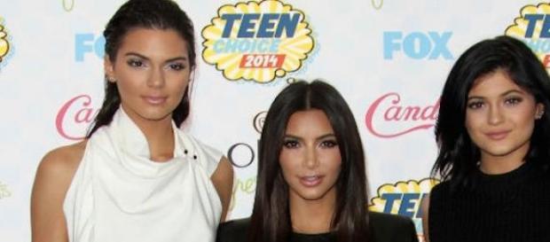 Kendall Jenner, Kim Kardashian et Kylie Jenner.