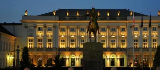 Pałac Prezydencki - to tutaj mieszka prezydent RP