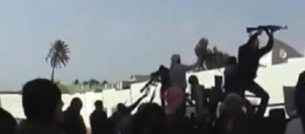 Scontro tra la Brigata 166 e l'Isis