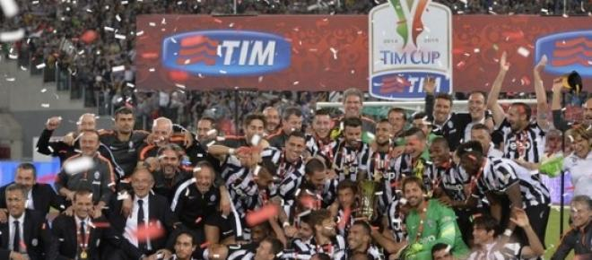 Juventus won Coppa Italia for the tenth time