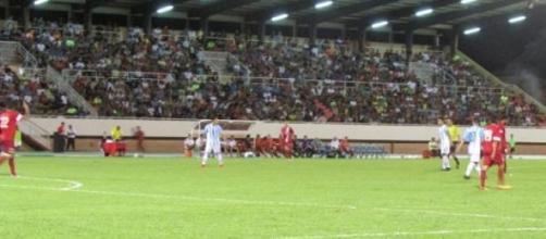 Argentina 1 - Tahití 3 (foto: AFA.org)