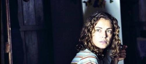 Dolores Fonzi en una escena encarnando a Paulina