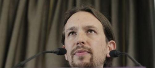 """Pablo Iglesias, líder de """"Podemos""""."""